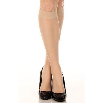 HUE So Silky Sheer Knee Hi 2 Pair Pack U12222