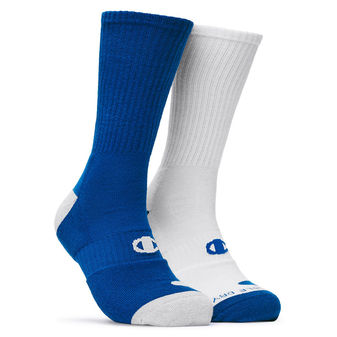 Champion Men\'s Basketball Crew Socks 2-Pack CH120