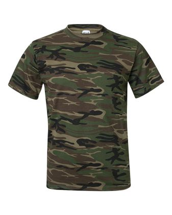 Anvil Midweight Camouflage T-Shirt 939
