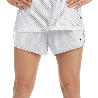 Champion Women\'s Reversible Mesh To Jersey Shorts M9593
