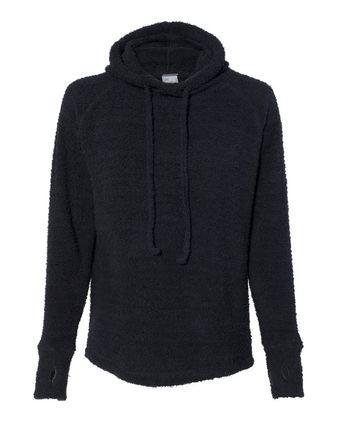 J. America Women\'s Teddy Fleece Hooded Pullover 8680