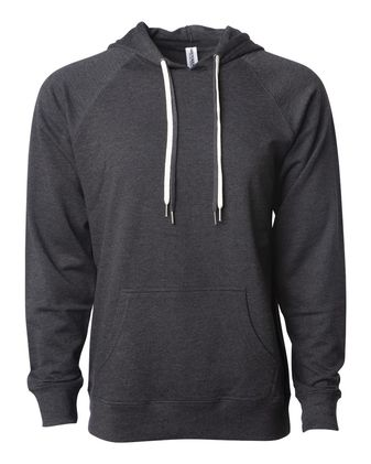 Independent Trading Co. Icon Unisex Lightweight Loopback Terry Hooded Pullover SS1000