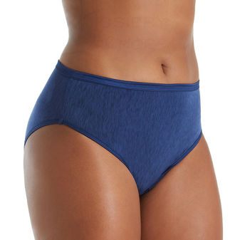 Vanity Fair Illumination Plus Size Hi-Cut 13810
