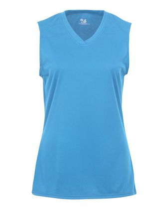 Badger Girls\' B-Core Sleeveless T-Shirt 2163