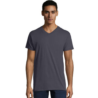 Hanes Men\'s Nano-T V-Neck T-Shirt 498V