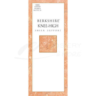 Berkshire Sheer Support Knee High Pantyhose with Sandalfoot 6361