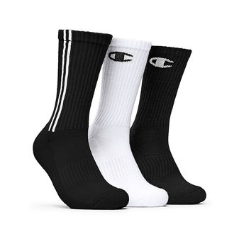 Champion Mens Dyed Crew Socks 3-Pack CH209