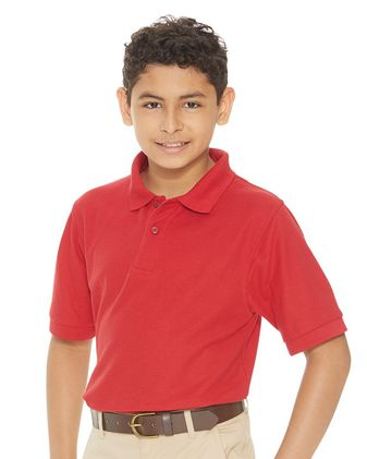 FeatherLite Youth Silky Smooth Pique Sport Shirt 4500