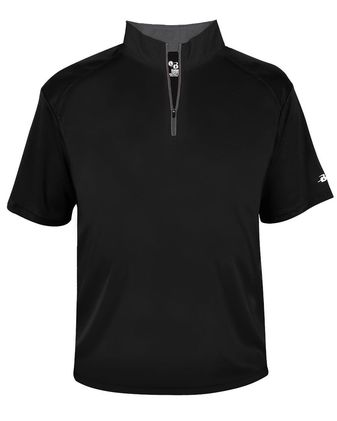 Badger B-Core Quarter-Zip T-Shirt 4199