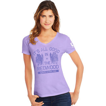 Hanes Redwood National Park Women\'s Graphic Tee G9337P Y07771