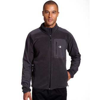 Champion Mens Textured Fleece w/Water Repellent Overlay CH2015TF