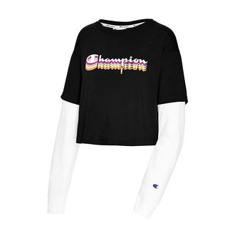 Champion Middleweight Cropped Two-fer Tee W5749G 550781