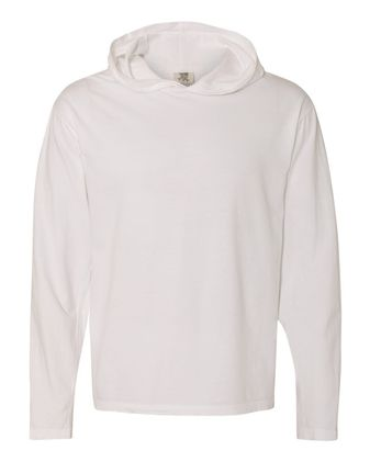 Comfort Colors Garment Dyed Hooded Long Sleeve Tee 4900
