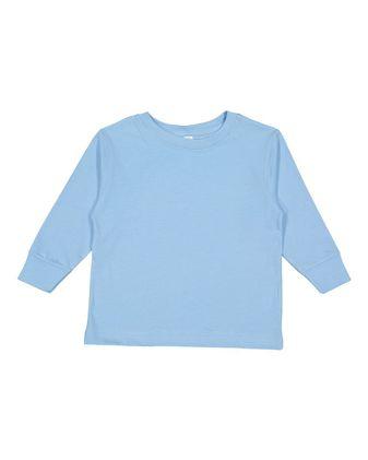 Rabbit Skins Toddler Long Sleeve Fine Jersey Tee 3302