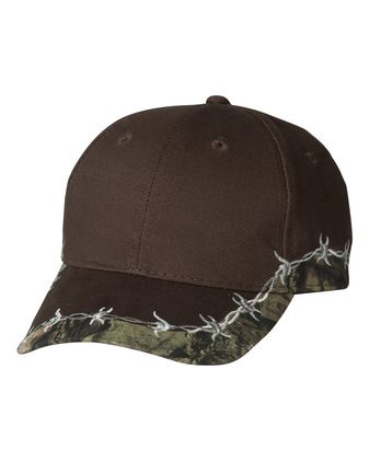 Outdoor Cap Camo Cap with Barbed Wire BRB605