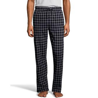 Hanes Men\'s ComfortSoft Cotton Printed Lounge Pants 01000/01000X