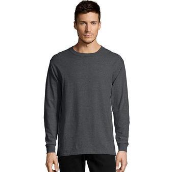 Hanes Men\'s TAGLESS® Comfortsoft® Long-Sleeve T-Shirt Sty# 5286