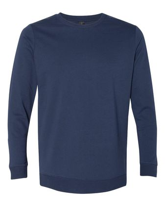 Anvil Unisex Light Terry Crewneck Pullover 73000
