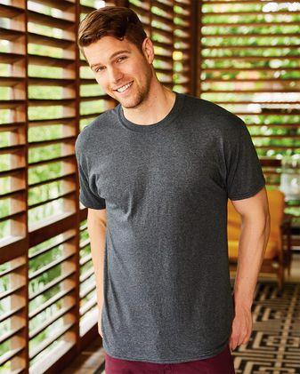 Hanes Premium Triblend Short Sleeve T-Shirt Sty# 42TB