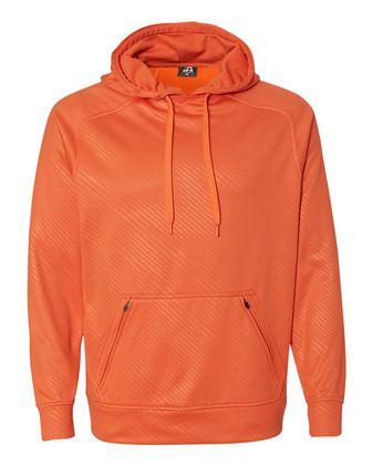 J. America Volt Polyester Hooded Sweatshirt 8670