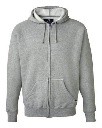 J. America Premium Full-Zip Hooded Sweatshirt 8821