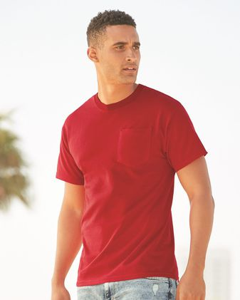 ALSTYLE Heavyweight Short Sleeve Pocket T-Shirt 1905