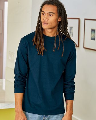 Hanes Tagless® Long Sleeve T-Shirt 5586