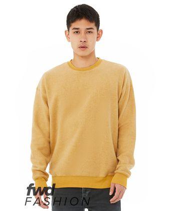 BELLA + CANVAS Fashion Unisex Sueded Drop Shoulder Sweatshirt 3345