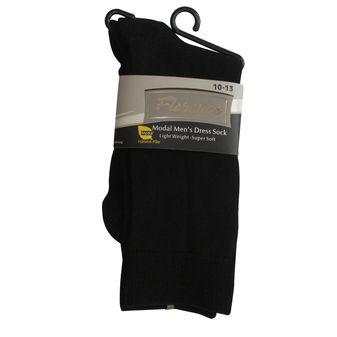 Florence Mens Modal Flat Knit Crew Dress Sock 215