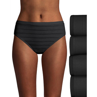 Hanes Ultimate™ Comfort Flex Fit® Hi-Cut 4-Pack 43CFF4