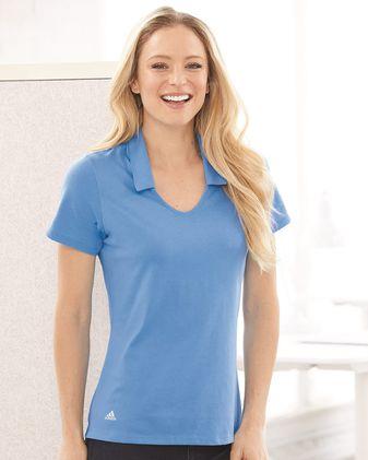Adidas Women\'s Cotton Blend Sport Shirt A323