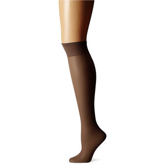 Berkshire Women\'s Plus-Size Queen All Day Knee High with Toe 6451