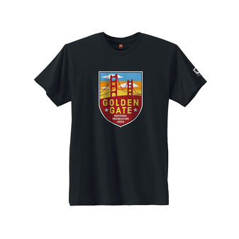 Hanes Mens Golden Gate National Park Graphic Tee GT49P Y07653