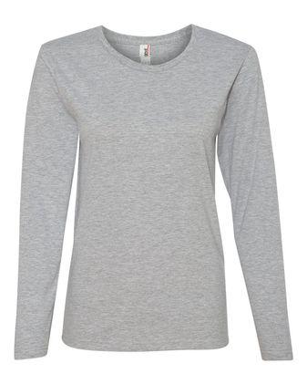 Anvil Women\'s Lightweight Long Sleeve T-Shirt 884L
