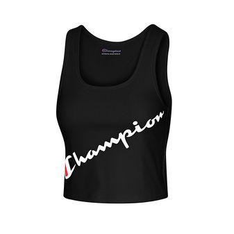 Champion Authentic Crop Top, Script Logo W5669G 550763