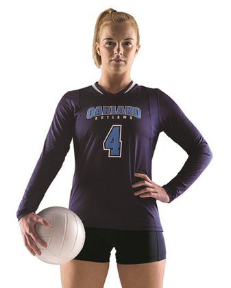 Alleson Athletic Women\'s Long Sleeve Volleyball Jersey A00230