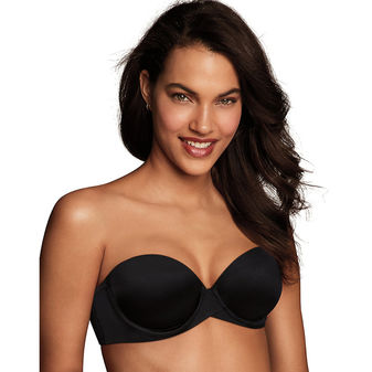 Maidenform Love the Lift Push Up and In Strapless Underwire Bra DM9903