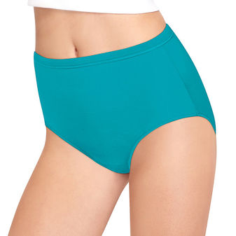 Hanes Women\'s Cool Comfort Pure Bliss Brief 8-Pack S840AS