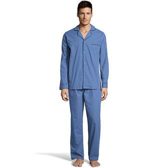 Hanes Men\'s Woven Pajamas LSLLBCWM