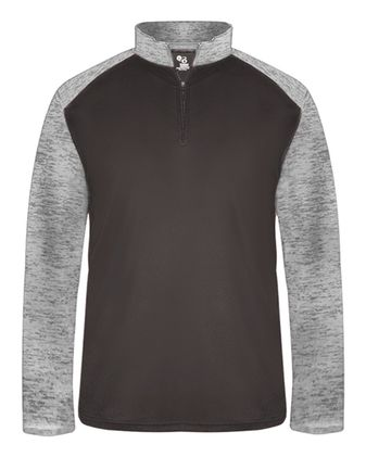 Badger Sport Tonal Blend Quarter-Zip Pullover 4177