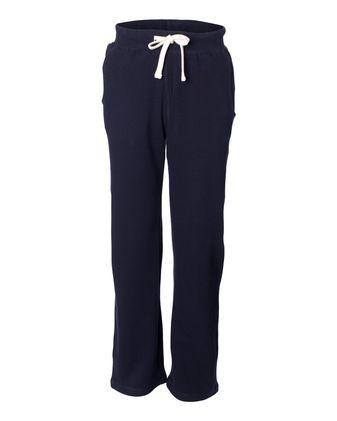 Weatherproof Cross Weave Open Bottom Sweatpants 7766