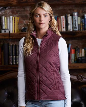 Weatherproof Women\'s Vintage Diamond Quilted Vest W207359