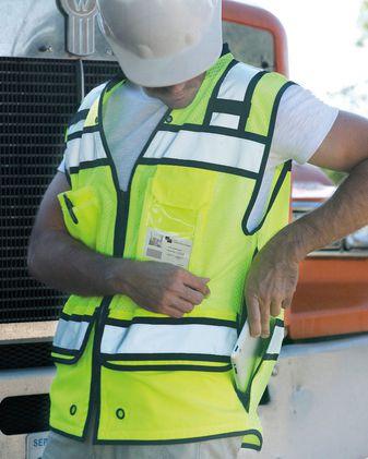 ML Kishigo High Performance Surveyors Vest S5004-5005