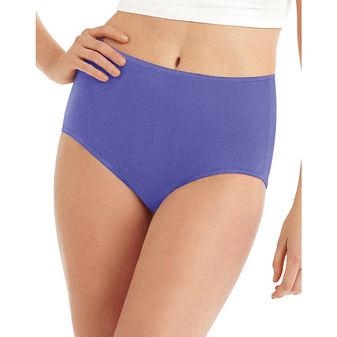Hanes Cool Comfort™ Microfiber Brief Panties 8-Pack M840AS