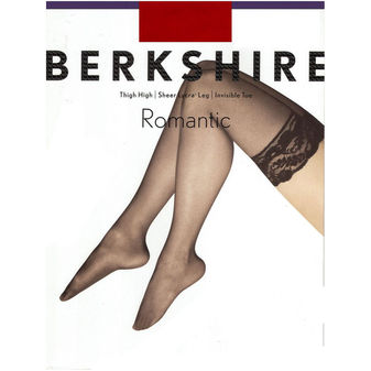 Berkshire Women\'s Romantic Lace Top Thigh High Pantyhose 1363