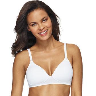 Hanes Women\'s Ultimate T Shirt Soft Natural Lift Foam Wirefree Bra DHHU25
