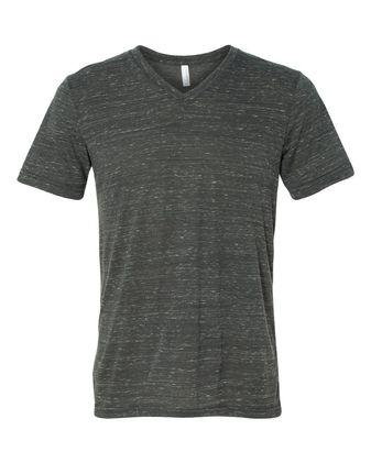 Bella + Canvas Unisex Short Sleeve V-Neck Jersey Tee 3005