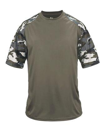 Badger Camo Sport T-Shirt 4141