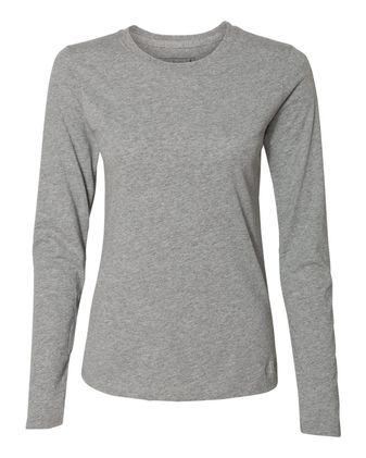 Russell Athletic Women\'s Essential Long Sleeve 60/40 Performance Tee 64LTTX
