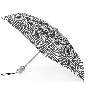 Totes Auto Open/Close Zebra Gift Boxed Umbrella